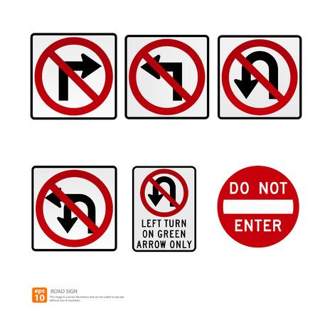 honking: Road sign vector format Illustration
