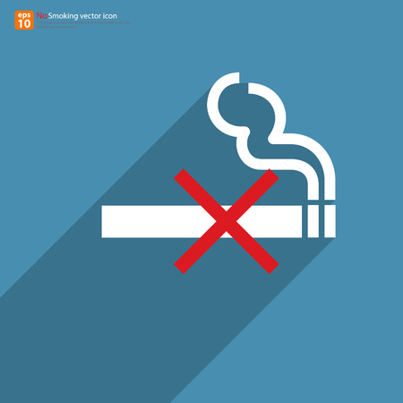 New no smoking sign vector design Vector