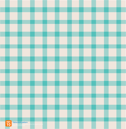 chequered drapery: New table cloth sky vintage color vector design