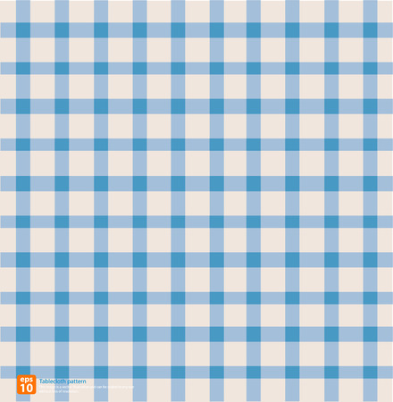 picnic blanket: New table cloth blue vintage color vector design