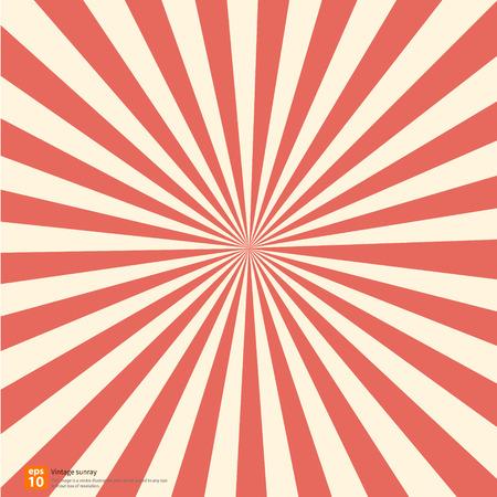 새로운 오렌지 떠오르는 태양 또는 태양 광선, 태양 버스트 벡터 디자인 일러스트