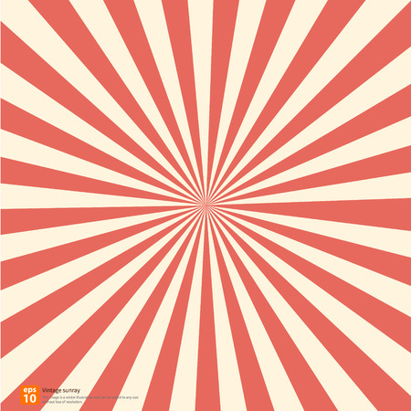 New orange rising sun or sun ray,sun burst vector design Imagens - 33847076