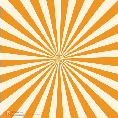 New orange rising sun or sun ray,sun burst vector design Stock Vector - 33847099