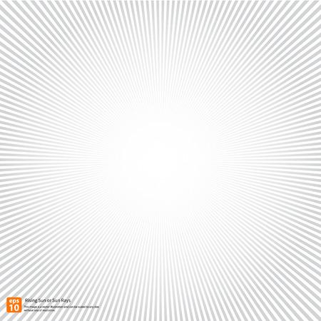 Nieuwe rijzende zon of in de zon ray, zon barsten vector design of Radial Speed Lines grafische effecten voor gebruik in de comic.