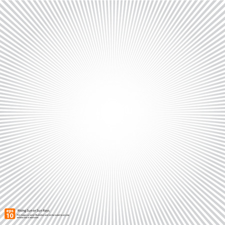 New rising sun or sun ray,sun burst vector design or Radial Speed Lines graphic effects for use in comic.