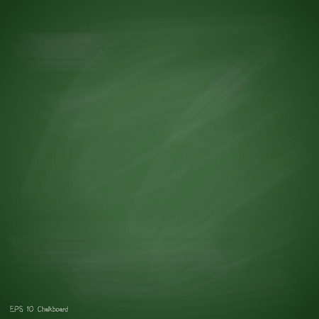 New green chalkboard background vector design