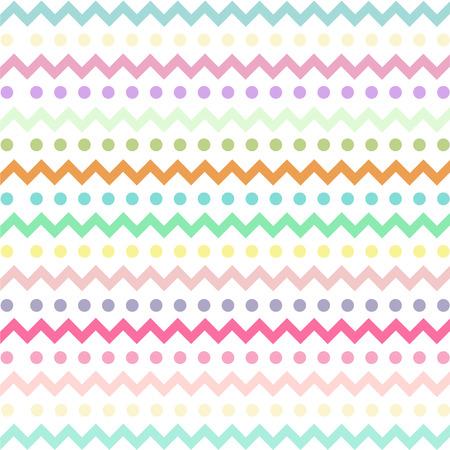 卵イースター日ベクター デザインのカラフルなシェブロン パターン