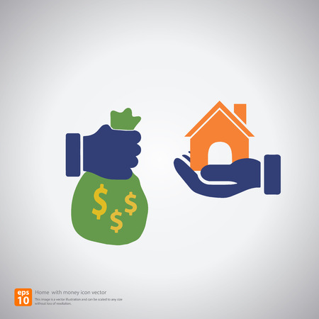 home buyer: hand bring money for buy home ,Trading Symbols