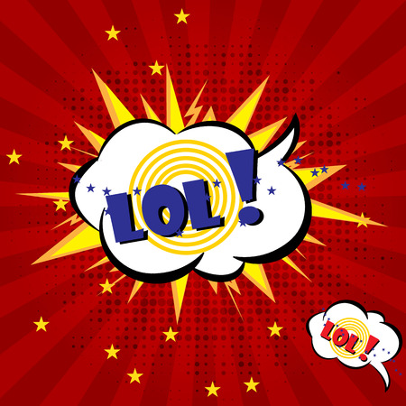 bawl: Cartoon vector, Boom explosion Comic Speech Bubble