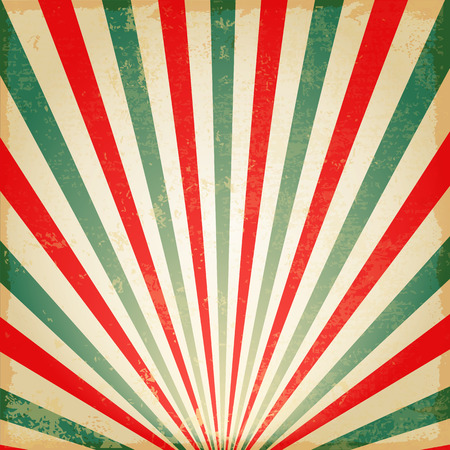 New Vintage Multicolor rising sun or sun ray,sun burst retro background design Ilustração