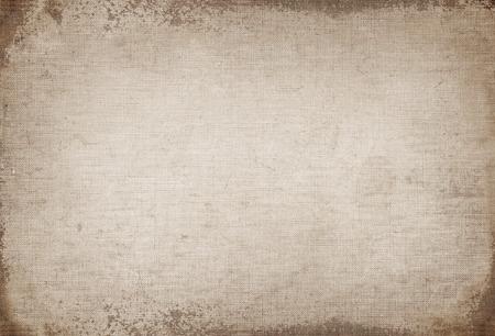 Fondo de la vendimia, vieja textura de la lona