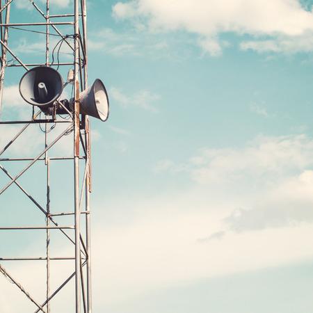 ビンテージのホーン スピーカー