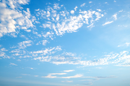 Landscape of Blue sky with clouds, naturebackground