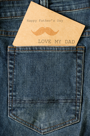 jean: Card of happy fathers day