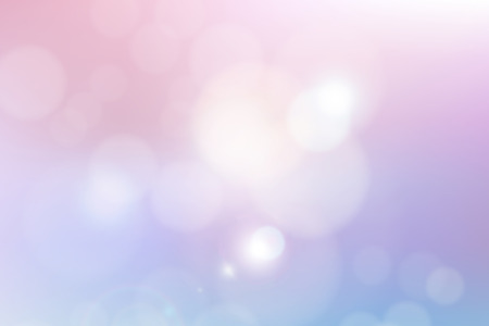Romantic and sweet beautiful abstract illustration blurred with bokeh background