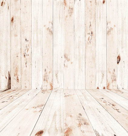 empty room background: Empty of room - wood texture background