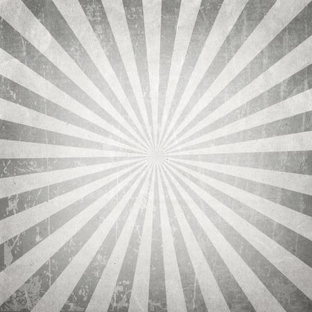 grey: Vintage gray explosion  ray, sun burst retro paper background Stock Photo