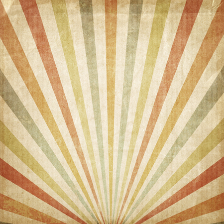 rays of sun: Vintage background Multicolor rising sun or sun ray,sun burst retro paper be crumpled