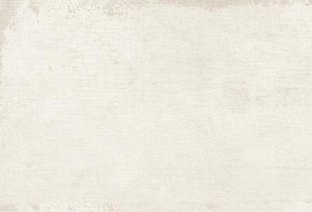 Vintage-weiße Leinwand Textur, Buchdeckel Hintergrund