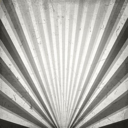 sunbeam background: Abstract gray sunbeam - vintage background. Illustration Design