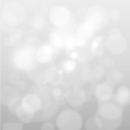 Artistic style - Defocused abstract white and gray bokeh lights background with blurring lights for your design