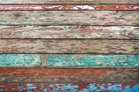 ヴィンテージ ウッドの背景。グランジ色テクスチャ