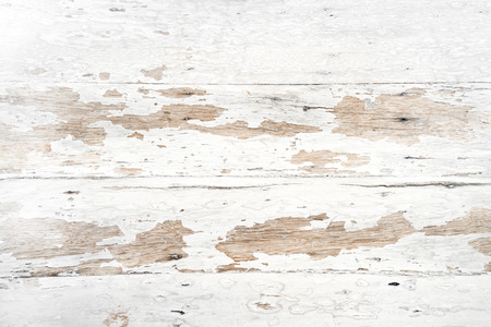 Old and grunge white wood texture - vintage background