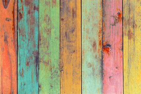 Kolorowa grafika malowana na drewnie materiał do rocznika tle tapety.