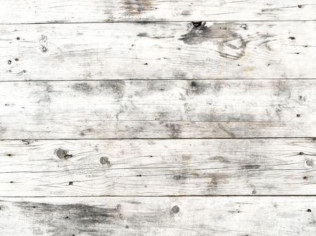 old vintage: Old white wood texture - vintage background Stock Photo