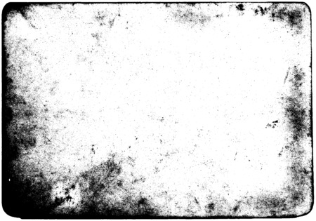 Abstract dirty or aging frame. Dust particle and dust grain texture on white background, dirt overlay or screen effect use for grunge background and vintage style.