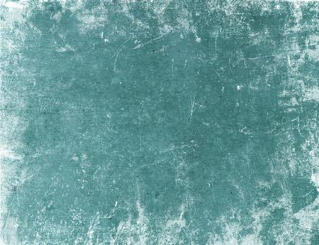 Fondo de la vendimia - viejo fondo de papel verde o textura. el uso de papel de grunge como fondo y espacio para texto.