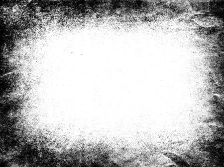 추상 더러운 또는 노화 프레임입니다. 먼지 입자 및 먼지 그레인 질감 흰색 배경, 흙 오버레이 또는 화면 효과 사용 그런 지 배경 및 빈티지 스타일.
