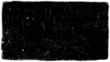Quadro de filme abstrato sujo ou envelhecimento. A partícula de poeira e a textura da grão de poeira ou a sobreposição da sujeira usam o efeito para o quadro de filme com espaço para seu texto ou imagem e estilo do grunge do vintage.