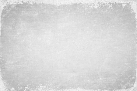 Abstract frame of grey book cover. Canvas texture. dirt overlay or screen effect use for grunge background and vintage style. Stock Photo