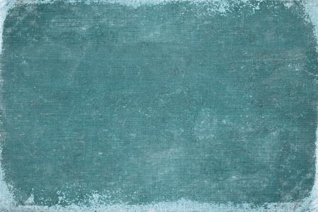 portada de libro azul vintage. textura de lienzo. utilizar para el fondo. Foto de archivo