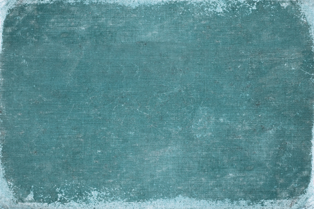 vintage blue book cover. canvas texture. use for background.