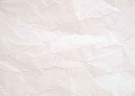 Vintage be crumpled white paper. vintage background texture Stock Photo