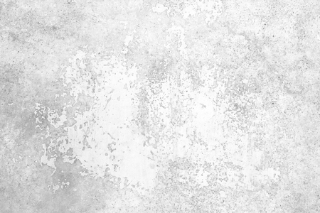 Grunge betonnen muur witte en grijze kleur voor textuur achtergrond