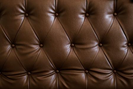 Uitstekend bruin patroon van bank. leer textuur