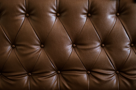 Vintage brown pattern of sofa. leather  texture Фото со стока