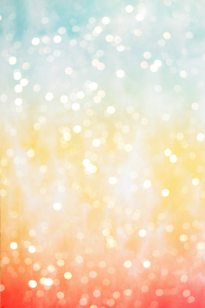 Abstract blurred colorful bokeh background