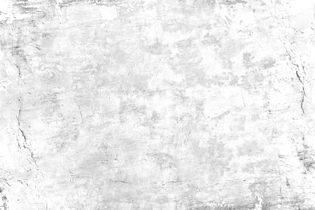 Grunge concrete wall white and grey color for texture vintage background