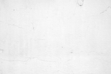 Grunge blank concrete wall white color for texture background Stockfoto