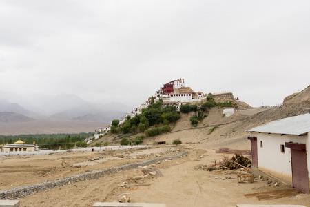Thiksey Monastery in Leh Ladakh, Jammu and Kashmir, India