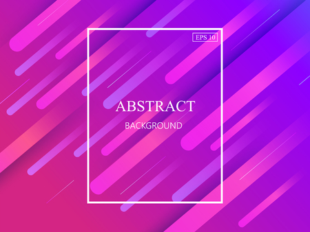 Colorful geometric background. Dynamic shapes composition. Eps10 vector. Illustration