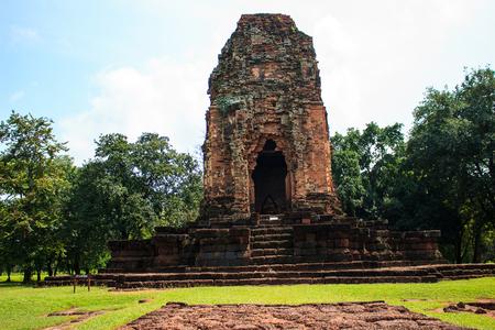 Sri thep historical park in khmare style phetchabun thailand Stock Photo