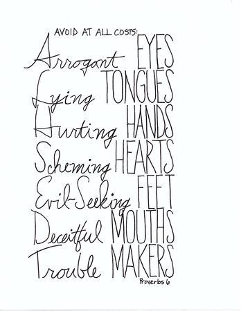 avoid: Avoid Hand Drawn Lettering