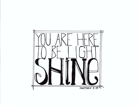 shine: Shine Hand Drawn Lettering