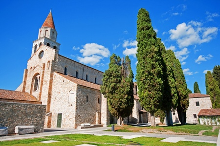 Basilica of Santa Maria Assunta in Aquileia, Italy photo
