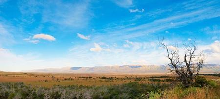 los glaciares: Bella la natura in paesaggio panorama Parco Nazionale Los Glaciares, in Argentina